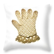 Glove Throw Pillow by Bernard Jaubert