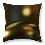 Golden Eggs Throw Pillow by James Barnes