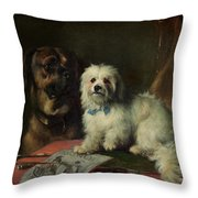 Good Companions Throw Pillow by Earl Thomas