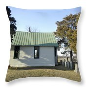 Griffiths Chapel Throw Pillow by Brian Wallace