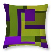 Groovy Throw Pillow by Ely Arsha