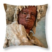 Grotto Buontalenti Throw Pillow by Caroline Stella