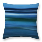 Gulf Of Mexico Throw Pillow by Marilyn Hunt