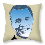 Hail To The Chief Throw Pillow by Robert Margetts