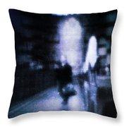 Haunted Throw Pillow by Andrew Paranavitana