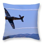 Hawker Sea Fury Throw Pillow by Garry Gay