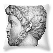 Heliogabalus (204-222) Throw Pillow by Granger