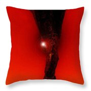 Hell Fall Throw Pillow by David Lee Thompson