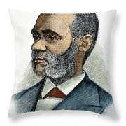 Henry Highland Garnet Throw Pillow by Granger