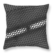 Hexagon Lights Throw Pillow by Anna Villarreal Garbis