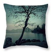 hidden bay Throw Pillow by Joana Kruse