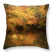 Hint Of September Throw Pillow by Jai Johnson