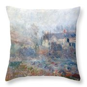 House at Falaise Throw Pillow by Claude Monet