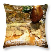 Humanoid Throw Pillow by Piety Dsilva