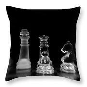 Hunt For The King Throw Pillow by Priska Wettstein