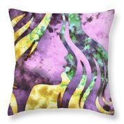 I Should Have Said Goodbye 1 Throw Pillow by Angelina Vick