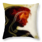 I Walked Away 1 Throw Pillow by Angelina Vick