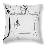 In Need Of Water Throw Pillow by Denny Casto
