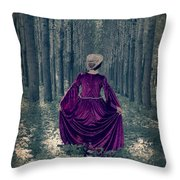 In The Woods Throw Pillow by Joana Kruse