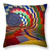Inflating Throw Pillow by Rick Berk