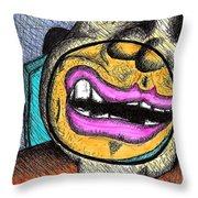 Inmate 15193741 Throw Pillow by Jera Sky