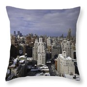 Inside Looking Out Throw Pillow by Madeline Ellis