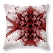 Intelligent Design 1 Throw Pillow by Angelina Vick
