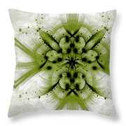 Intelligent Design 3 Throw Pillow by Angelina Vick