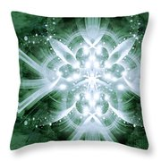 Intelligent Design 5 Throw Pillow by Angelina Vick