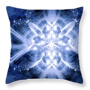 Intelligent Design 6 Throw Pillow by Angelina Vick