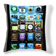 Iphone Throw Pillow by Photo Researchers