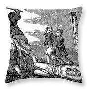 IRELAND: CRUELTIES, c1600 Throw Pillow by Granger