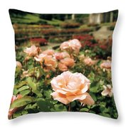Irish National War Memorial Gardens Throw Pillow by The Irish Image Collection