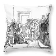IRON BOOT, 1777 Throw Pillow by Granger