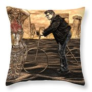 is it art  or can I clean it up Throw Pillow by Joachim G Pinkawa