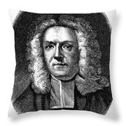 James Blair (1655-1743) Throw Pillow by Granger