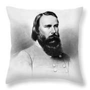 James Longstreet (1821-1904) Throw Pillow by Granger