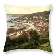 Jersey - Saint Aubins - Channel Islands - England Throw Pillow by International  Images