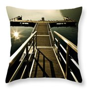 Jetty Throw Pillow by Joana Kruse