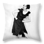 Joan Crawford (1908-1973) Throw Pillow by Granger