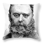 Johann Joseph Most Throw Pillow by Granger
