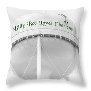 John Deere Green Throw Pillow by Andee Design