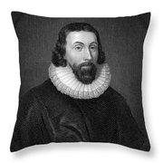 John Winthrop (1588-1649) Throw Pillow by Granger