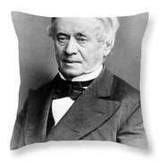 Joseph Henry, American Scientist Throw Pillow by Science Source