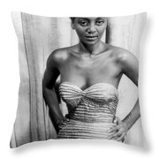 Joyce Bryant, 1953 Throw Pillow by Granger
