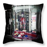 July Eigth Twenty Twelve Throw Pillow by Charles Stuart