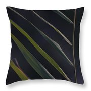 Just Grass Throw Pillow by Heiko Koehrer-Wagner