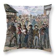 KANSAS-NEBRASKA ACT, 1855 Throw Pillow by Granger