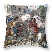 Kansas-nebraska Act, 1856 Throw Pillow by Granger