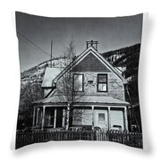 King Street Throw Pillow by Priska Wettstein